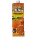 1 litre natural orange juice